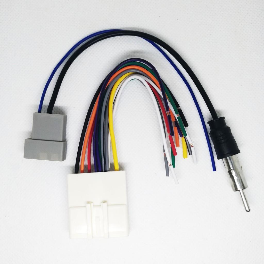 現貨 日產 NISSAN 歌樂 Clarion 音響 主機 改裝 專用 線組 天線 原廠 插頭 母頭 公頭 天線 fm