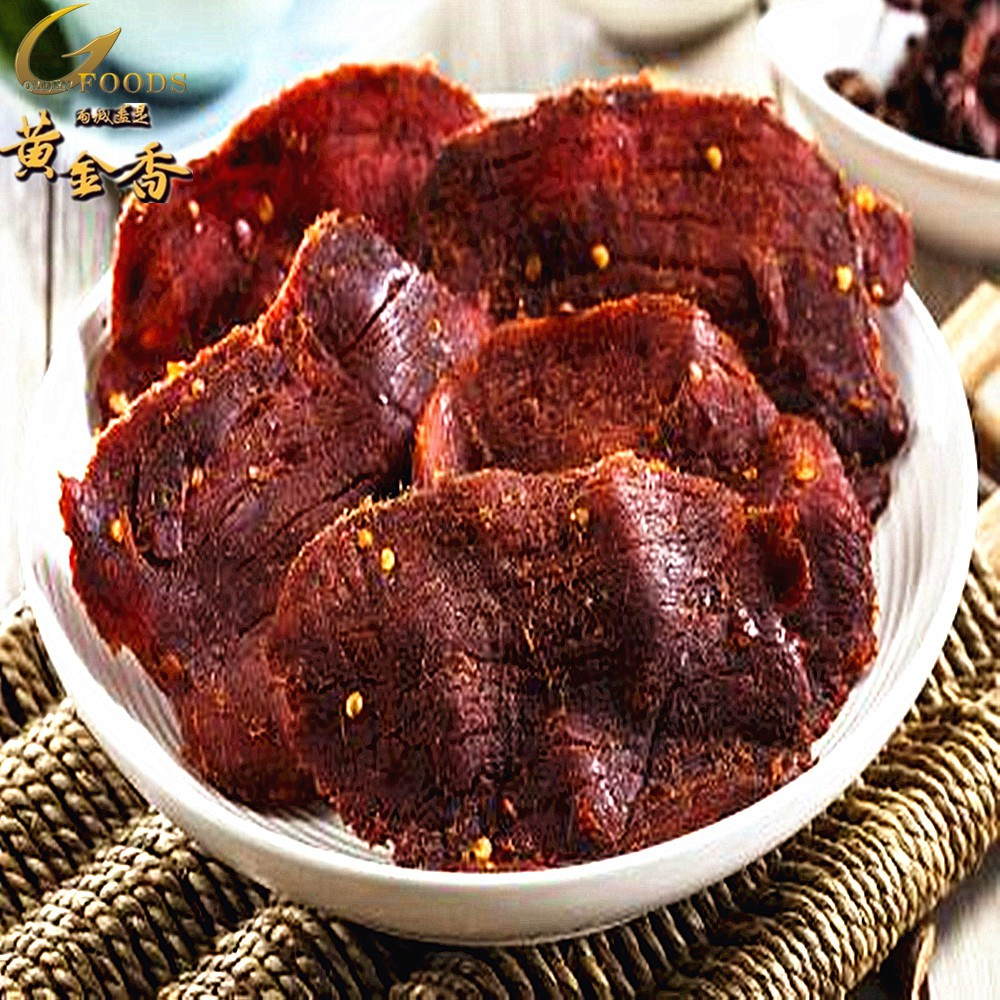 【黃金香肉乾】麻辣豬肉乾 200g