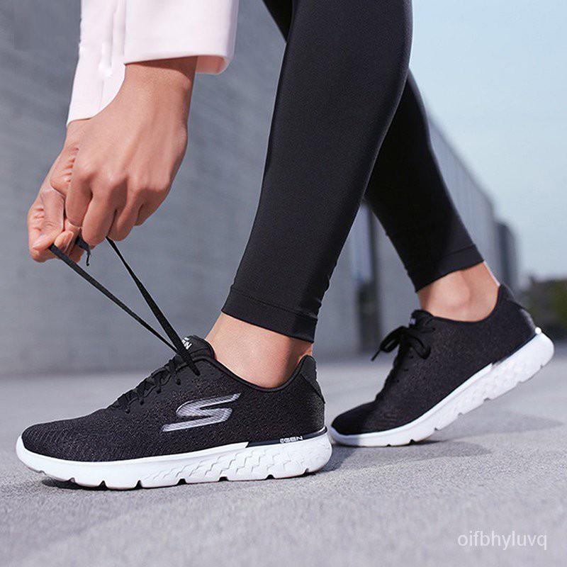 新款透氣/男女Skechers跑步鞋運動鞋輕便網面斯凱奇休閒減震男士14804