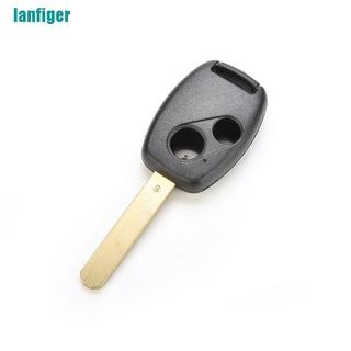 【lanfiger】Civic Accord Jazz FRV的替換遙控鑰匙殼外殼2個按鈕