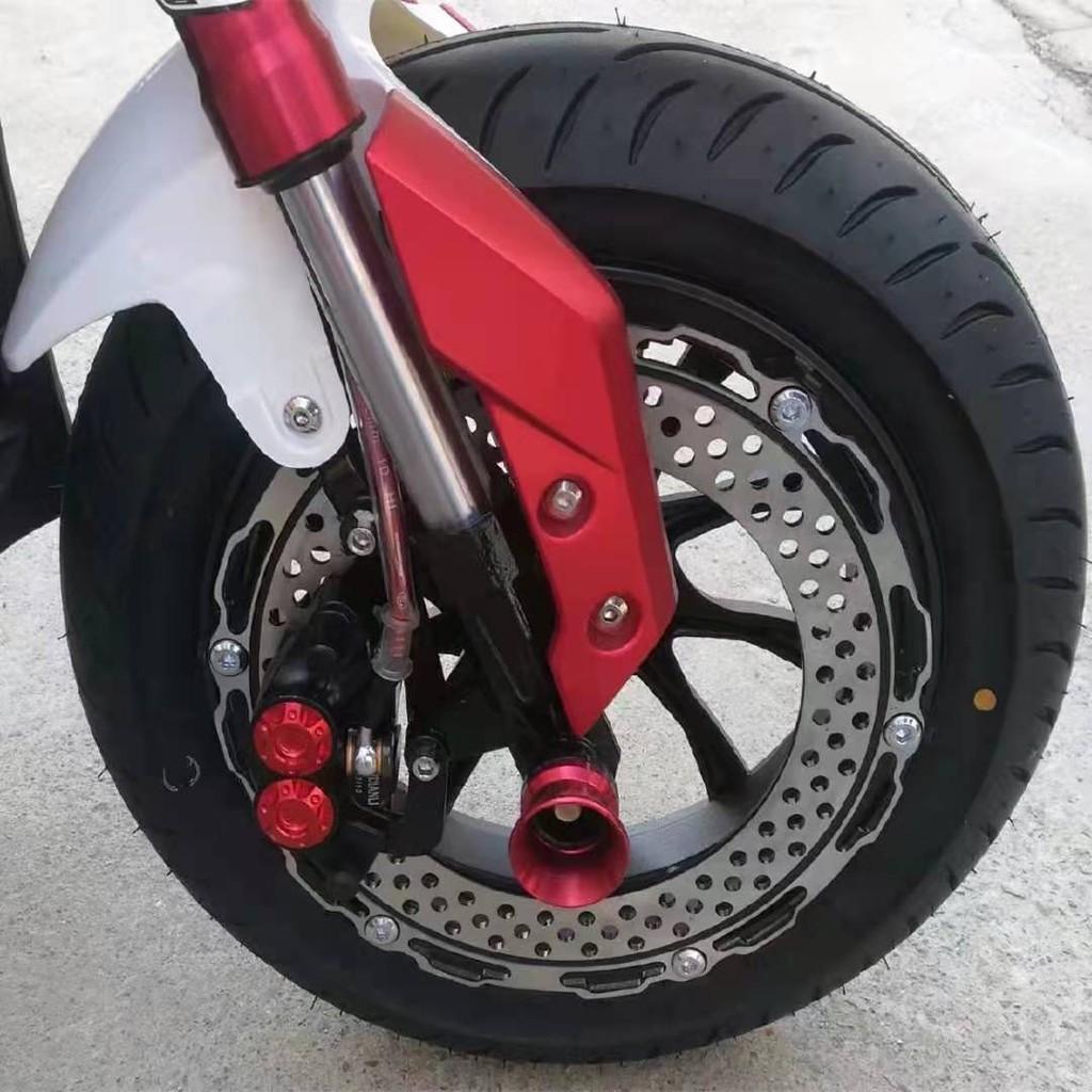 『台灣現貨』電摩12吋6孔反扣碟煞盤 鋁合金輪圈 輪框 輪殼 套裝 M3 小猴子 x戰警 戰狼 極客 電動車摩托車 改裝