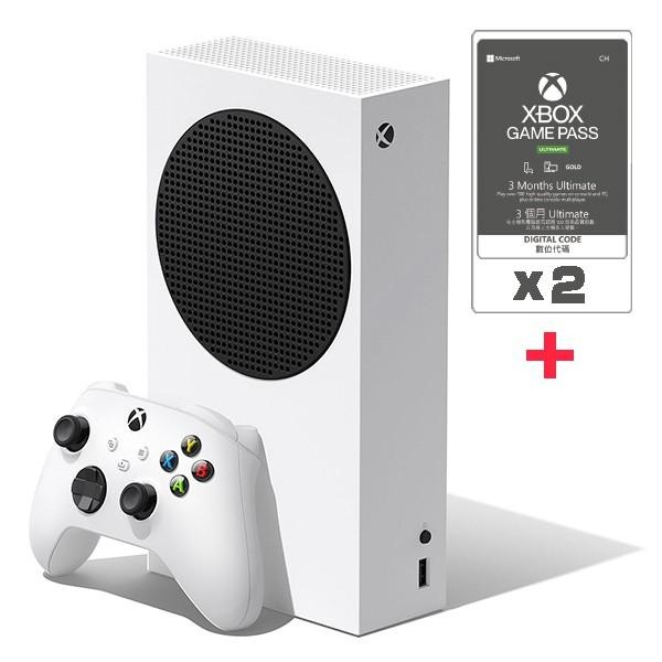 Xbox Series S + Game pass Ultimate 3個月兩組 / 台灣公司貨【XBOX旗艦館】