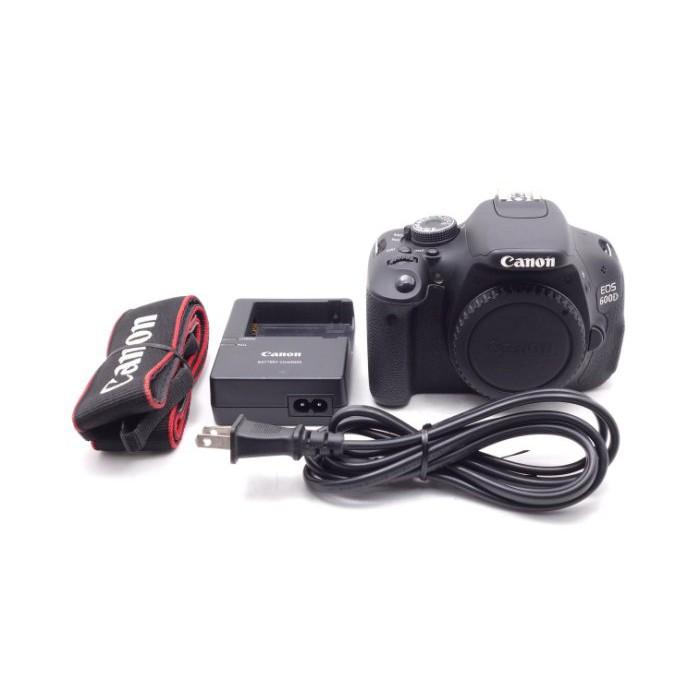 【莫比爾3C】Canon EOS 600D 單機身 二手 APS-C 單眼 相機 快門次數約7,455 #56686