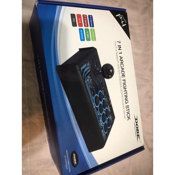 7合1 格鬥搖桿 適用任天堂switch ns lite 電腦 ps4 ps3 Xbox one xbox360 安卓