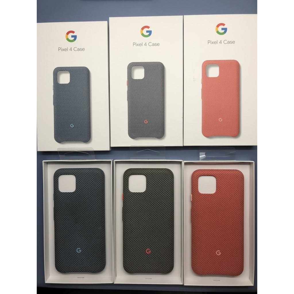 Google Pixel 4 手機殼 保護殼 手機套 保護套 背蓋 背殼 原廠 織布手機保護殼