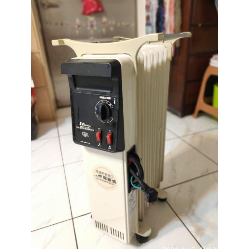 北方電暖器葉片式電暖器600W~1500W可調_德國製造