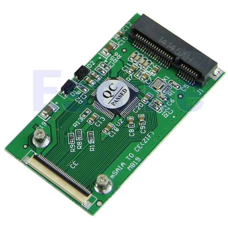 Bang11PC mSATA PCI-E SSD轉40pin ZIF CE電纜適配器卡