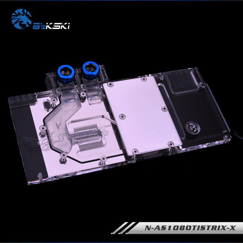 Bykski N-AS1080TI STRIX-X 華碩GTX1080TI 1080 1070猛禽水冷頭