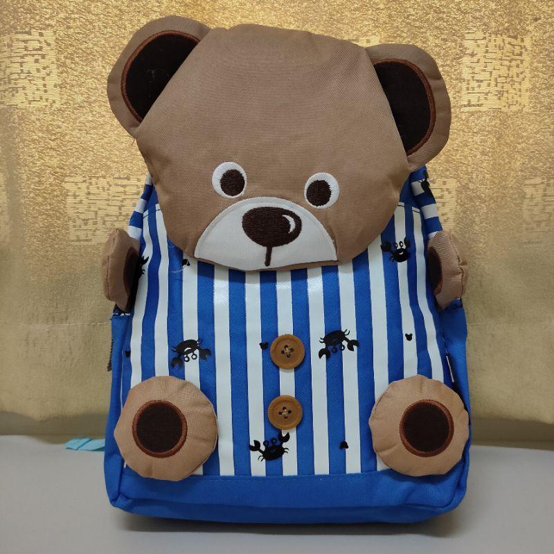 奴曼尼 NUMANNI 小熊造型後背包 DQ-622B