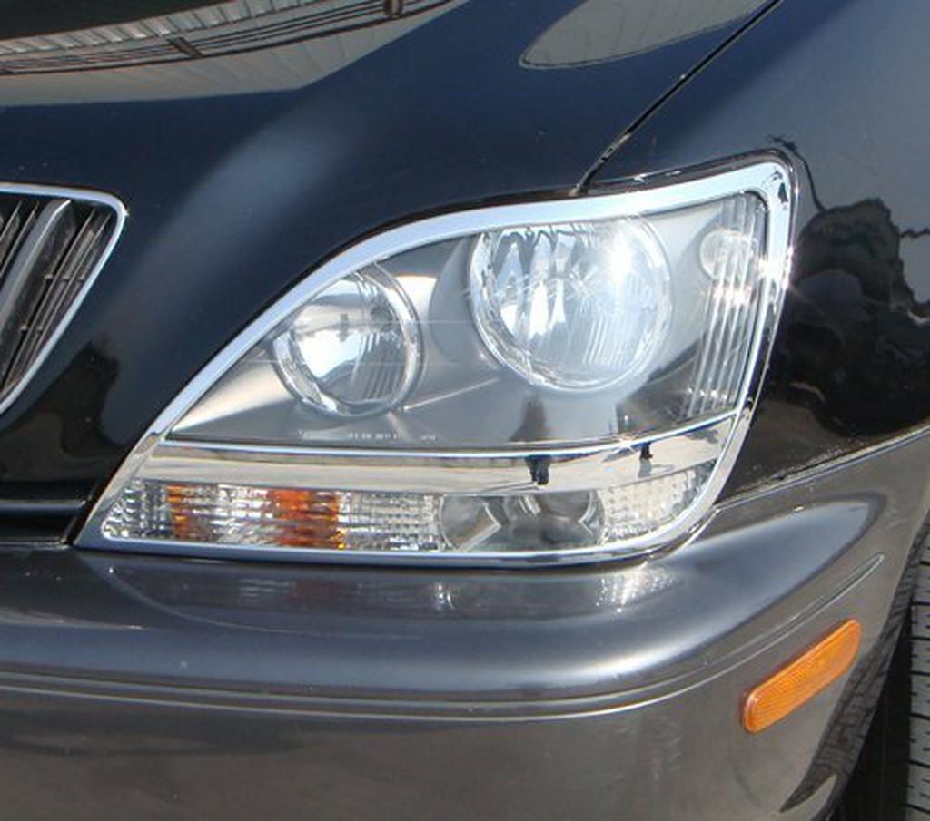 IDFR ODE 汽車精品 LEXUS RX300 99-04 鍍鉻大燈框 電鍍大燈框 MIT
