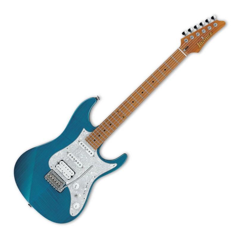 [可分期免運] Ibanez 日廠 AZ2204F-TAB 透明水藍色 AZ 系列 電吉他 [唐尼樂器]
