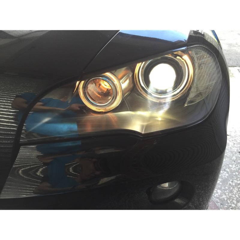 BMW X5 X6 E70/E71 W205 W213 GLC 大燈 霧化 翻新 燈罩 魚眼 LED HID