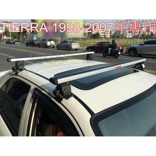 TIERRA 323 ISAMU PROTEGE 車頂架 行李架 橫桿 置物架 旅行架 露營 福特 馬自達 高雄市