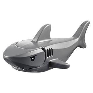 LEGO 樂高 60095 深灰鯊魚 眼睛印刷 全新品 未組 海盜 動物 60147 60130