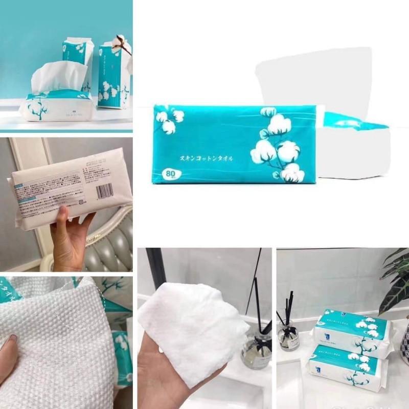 日本ITO洗臉巾抽取式80抽2包