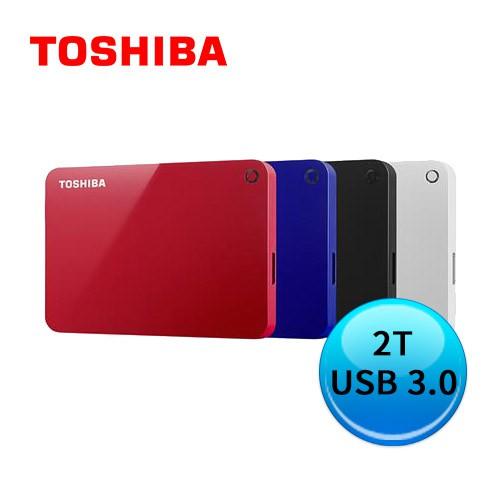 TOSHIBA 東芝 Canvio Advance V9 2TB 2.5吋行動硬碟