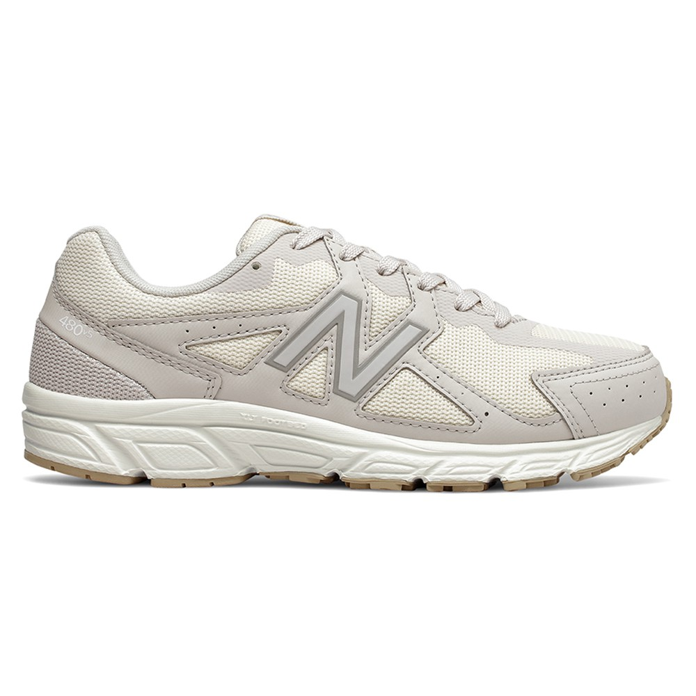 New Balance 4E 女鞋 慢跑 輕量 緩震 米白【運動世界】W480ST5