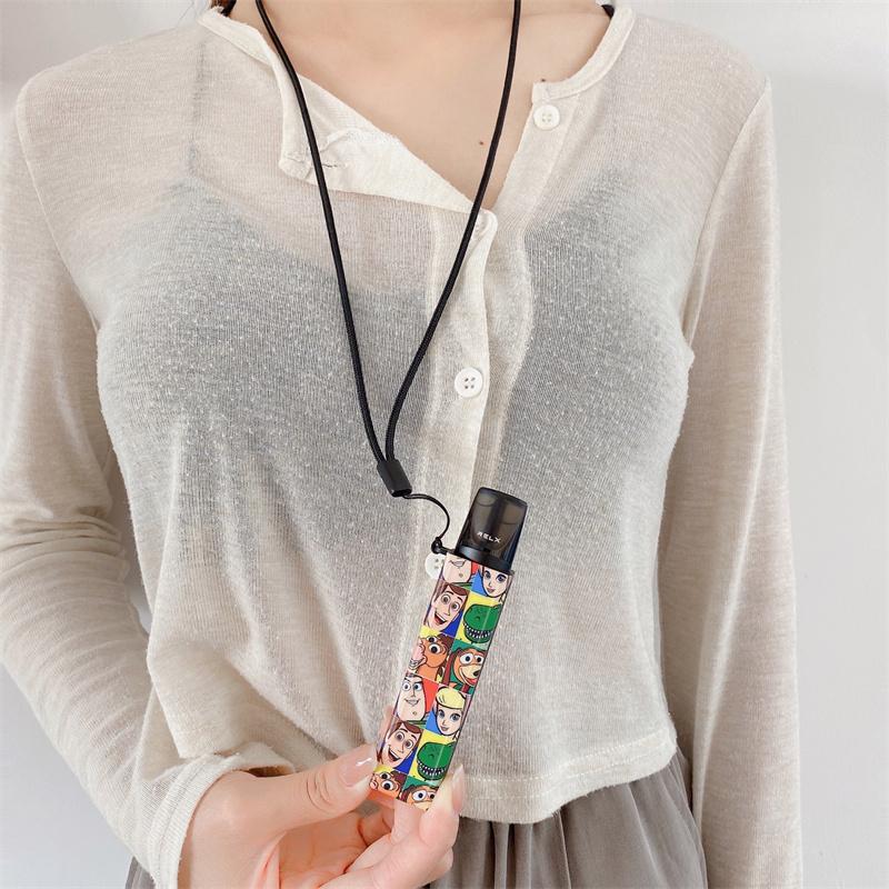 悅刻一代創意保護套 relx悅刻4代無限個性煙桿套 悅刻relx防塵防摔電子器保護套 relx悅刻配件