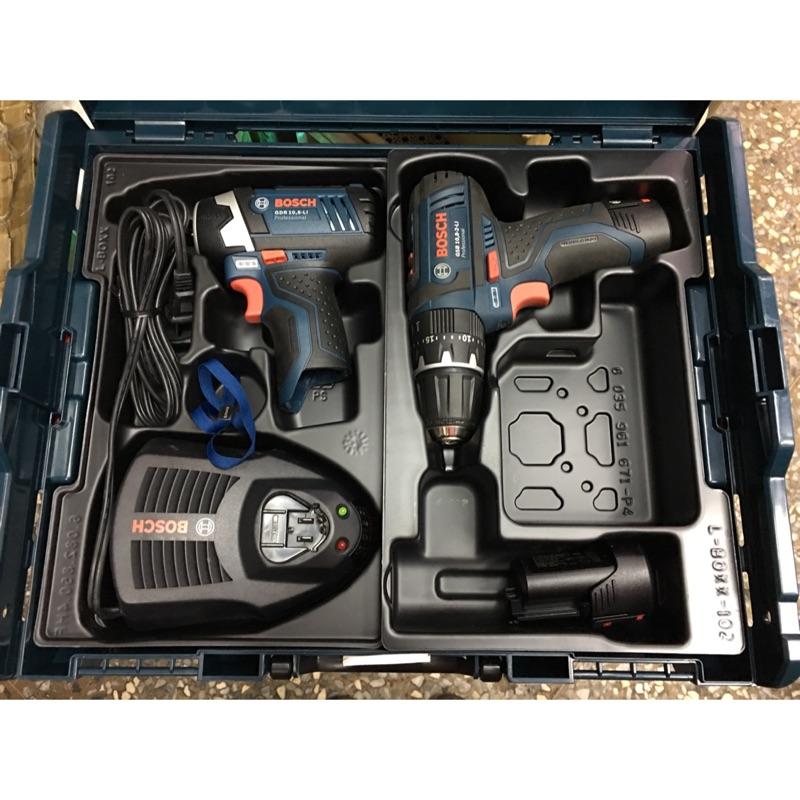 [扣辣五金] Bosch 博世 10.8V 12V 雙機組 震動電鑽 起子電鑽 GDR GSB