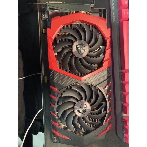 [優質二手品]msi GTX 1060 6GB 紅龍頂級版