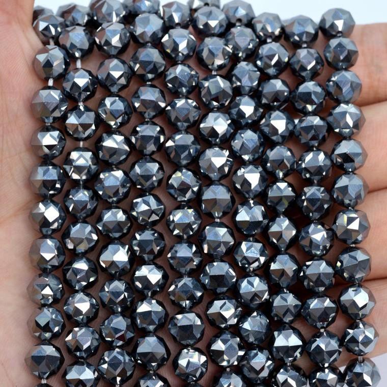 日本正品 鈦赫茲鑽石鉆石切面手鍊 99.9%純矽 溶冰高濃度能量石 太赫茲手串手鏈 多晶硅切面單圈三圈手珠手排