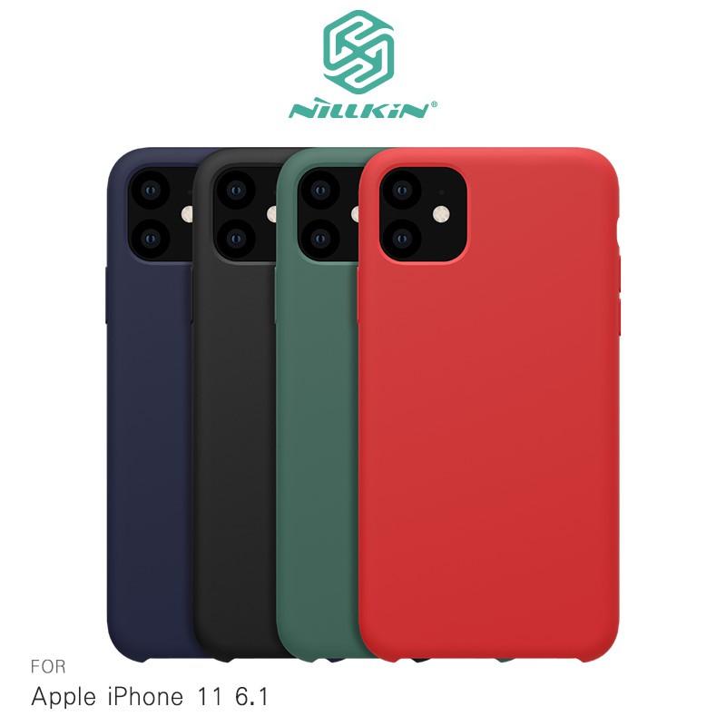 NILLKIN Apple iPhone 11 6.1 感系列液態矽膠殼
