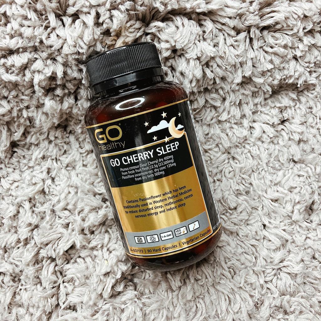 日本代購 - 紐西蘭 🇳🇿 Go healthy Cherry Sleep 櫻桃睡眠膠囊 (90粒)