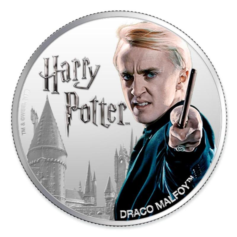 預購 - 2020斐濟-魔法世界系列-跩哥·馬份-1盎司銀幣