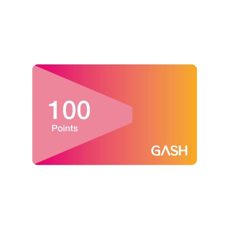 Gash Point 100點 【經銷授權 APP自動發送序號】