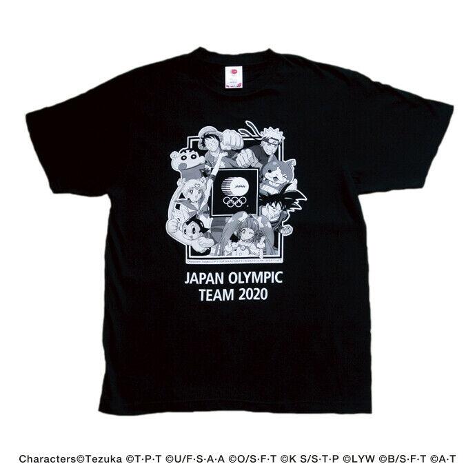 東京奧運會 2020 T 恤 19 中性動漫漫畫日本一件龍珠