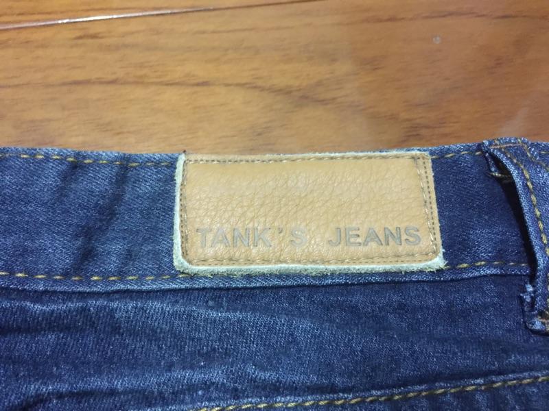 TANK'S JEANS 牛仔褲 微彈性 修身 顯瘦 M 30腰