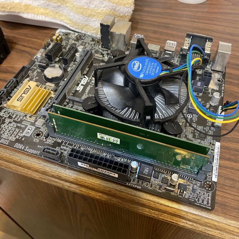 ASUS主機板 H110M-A/M.2 二手 i5-6400 105年購入