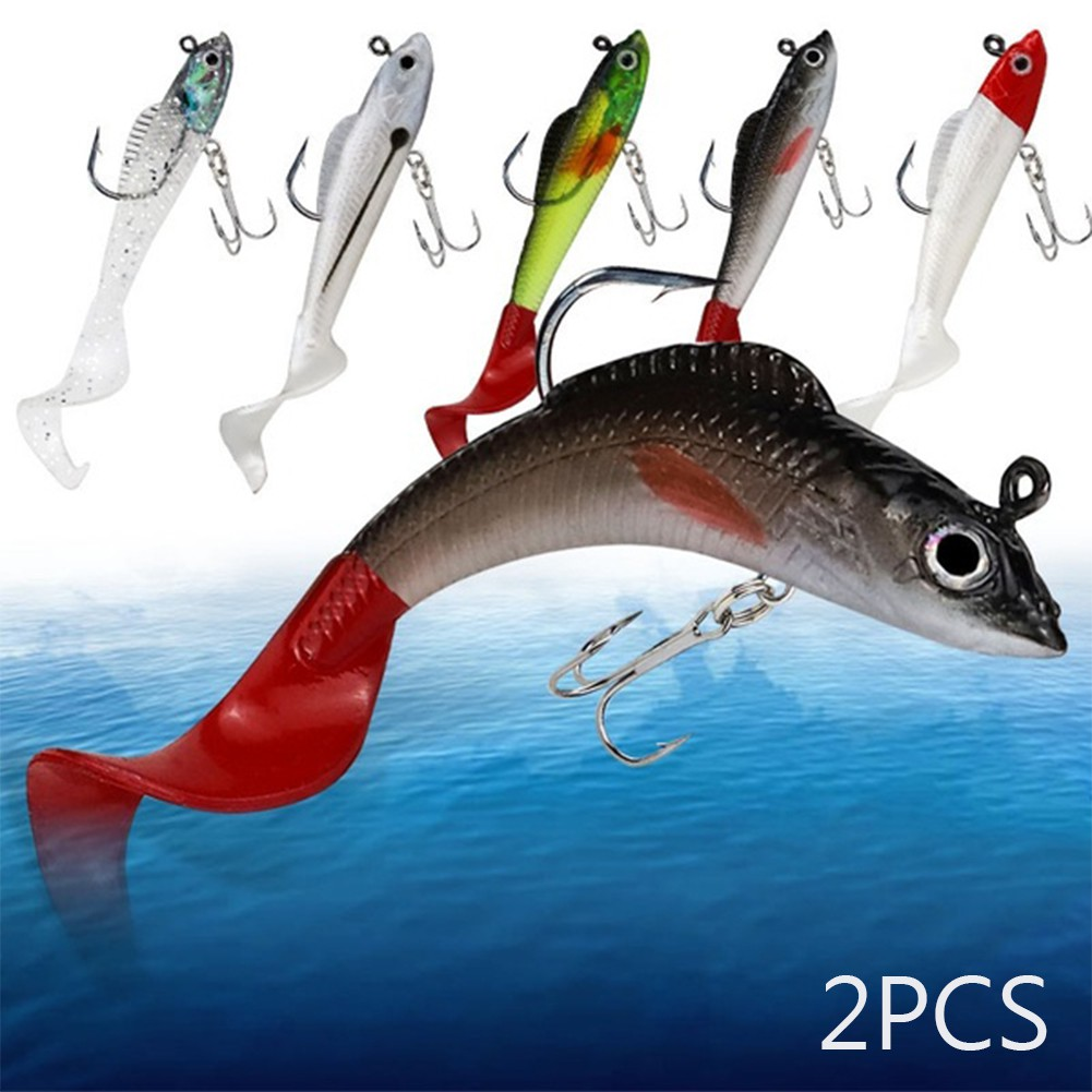 9cm 9.5g 2Pcs now魚誘餌魚餌釣魚釣具