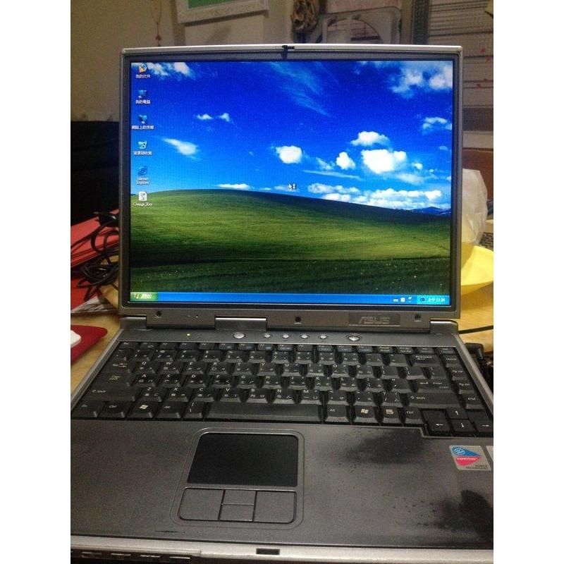 華碩 ASUS 廠牌千元筆電 NOTEBOOK~可開機跑 windows XP win7
