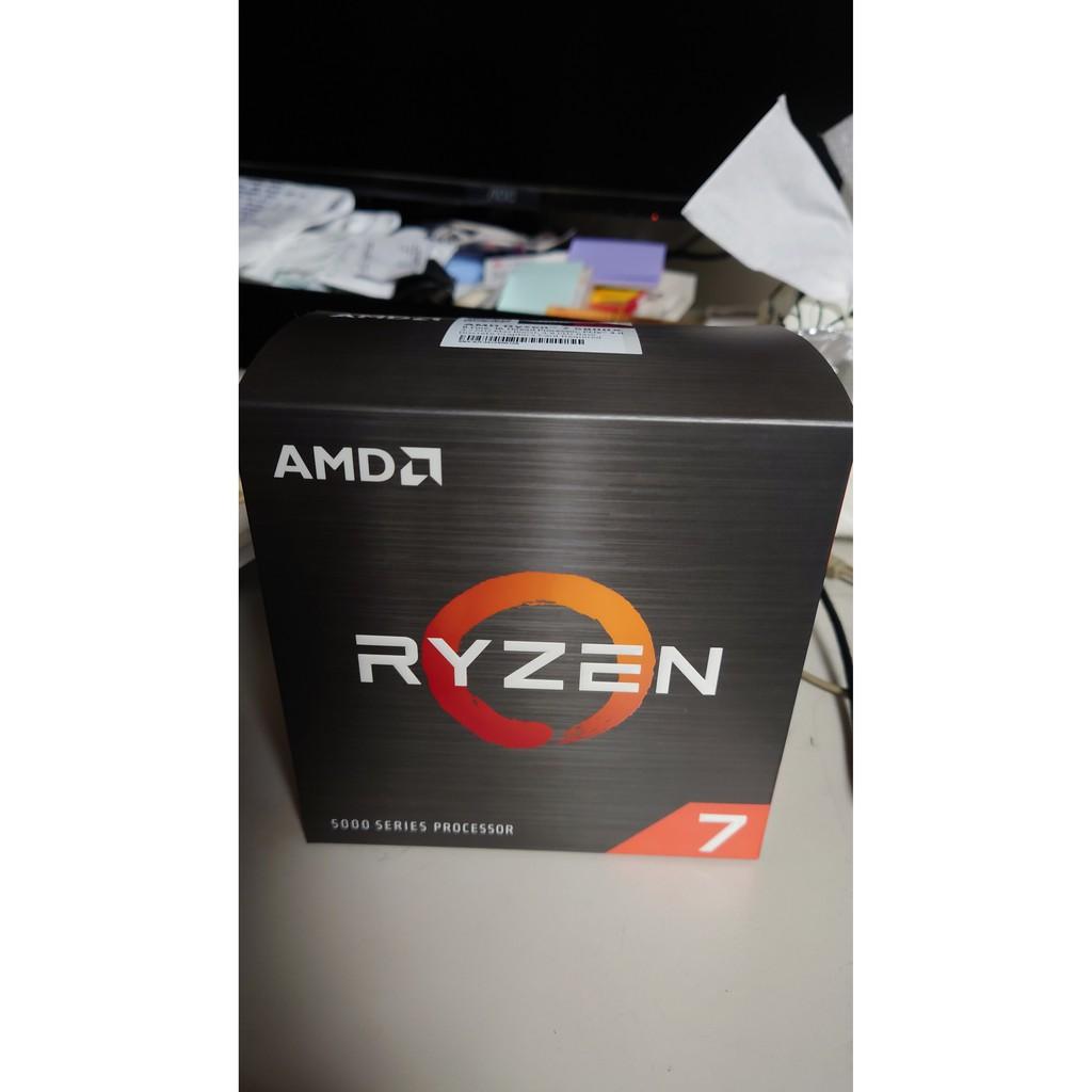 AMD RYZEN 7 5800X R7-5800X 8核16線程 遊戲處理器