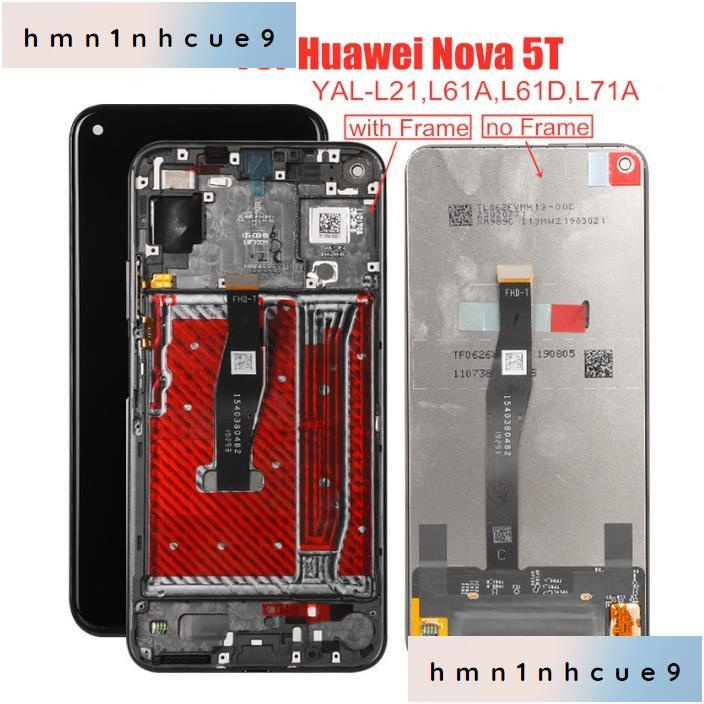 "原廠6.26""手機螢幕總成適用於華爲Huawei Nova 5T Honor 20 YAL-L21"