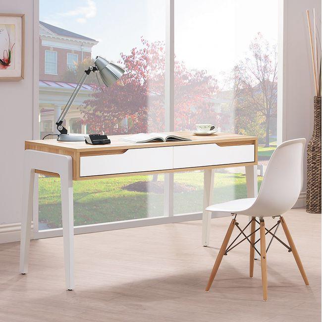 【HB483-03】艾莎北歐4.2尺書桌