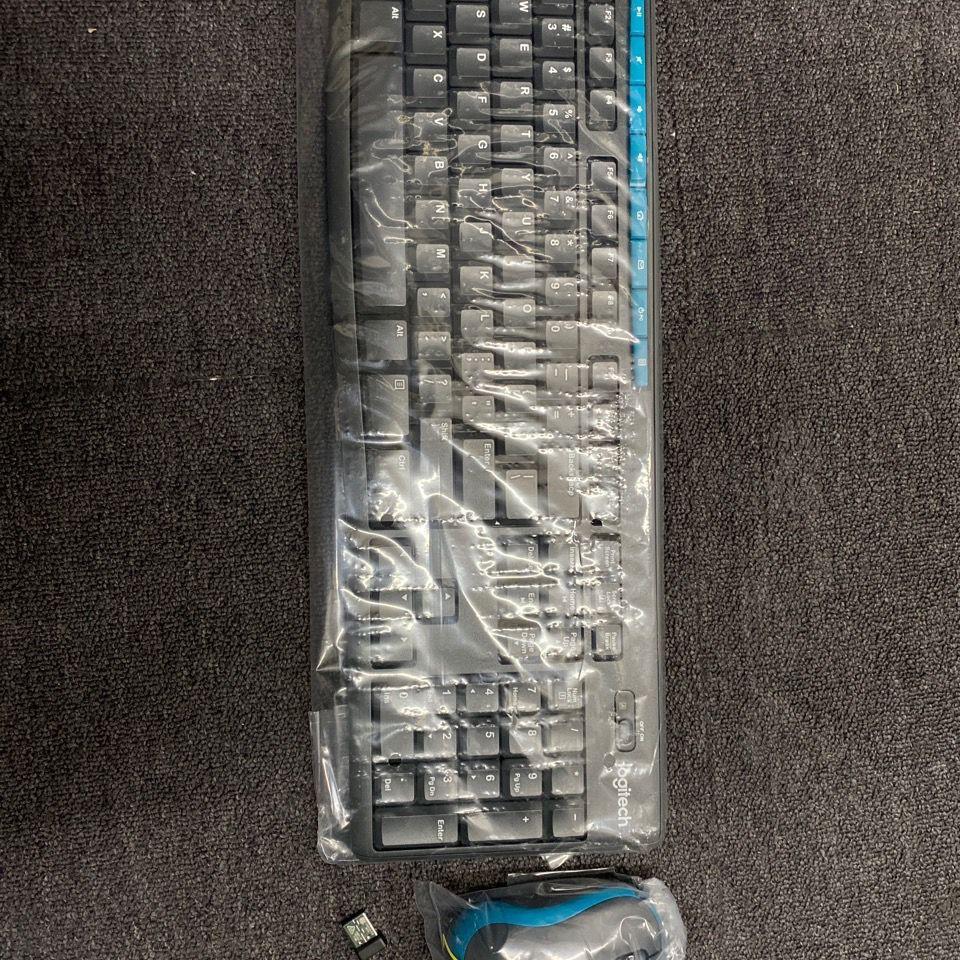 羅技mk275無線鼠標鍵盤套裝辦公鍵鼠套裝全尺寸無線2.4G接收器