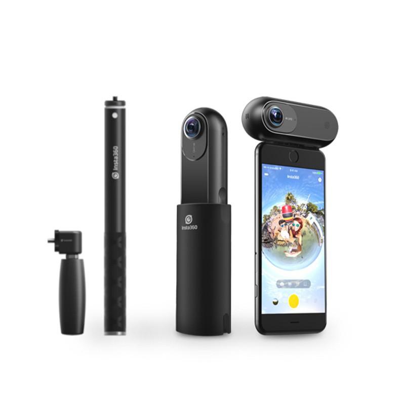 可發貨到付款#【二手九成新】Insta360 ONE運動全景相機套裝 運動攝像機防抖