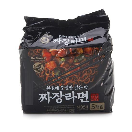 韓國 No Brand 炸醬麵 炸醬拉麵 單包 袋裝五包