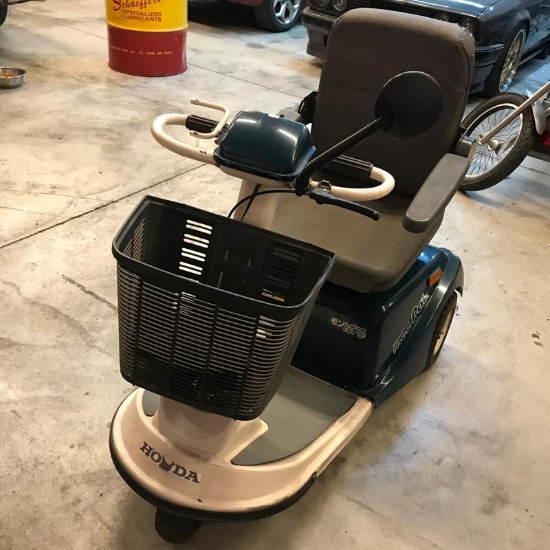 HONDA BT90電動三輪車 代步車 老人車 日本外匯二手中古
