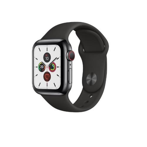 「標價再打97折」Apple Watch Series 5 44mm LTE MWWK2TA 太空黑不鏽鋼 CA531