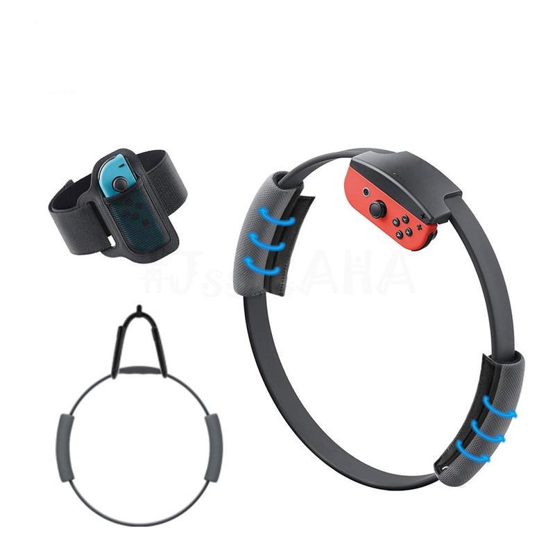 【Switch】NS 健身環止滑套 JYS 掛勾 環套可調鬆緊 手把套 腿帶 健身環大冒險 Ring-con