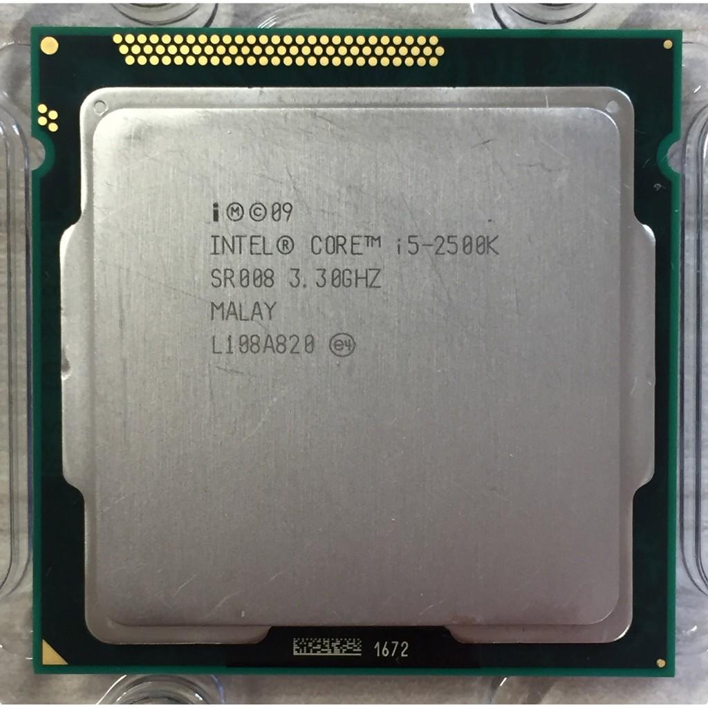 ⭐️【Intel i5-2500K  6M 快取記憶體/最高 3.70 GHz 4核4緒】⭐ 正式版/無風扇/保固1個月