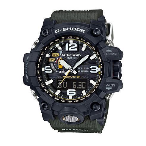代購卡西歐CASIO G-SHOCK 防水戶外運動男士手錶GWG-1000-1A3太陽能公司貨