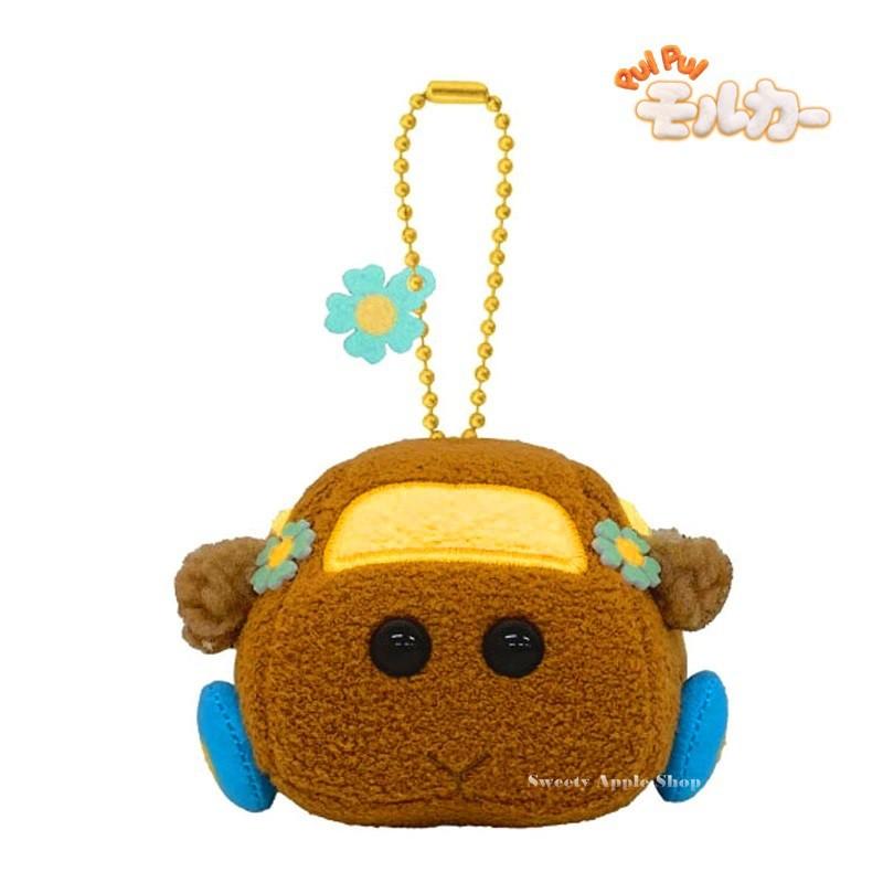 天竺鼠車車【 TW SAS 日本限定 】PUI PUI 天竺鼠車車 朱古力 珠鍊吊飾 玩偶娃娃 