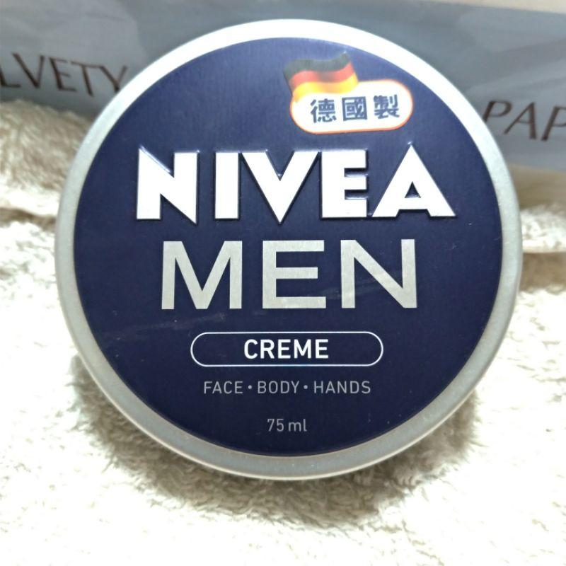 【NIVEA 妮維雅】德國製男士全效潤膚霜(75ml)