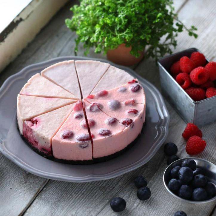 【水母吃乳酪】生乳酪蛋糕,乳糖不耐症、素食者都可以吃,母親節、生日蛋糕首選