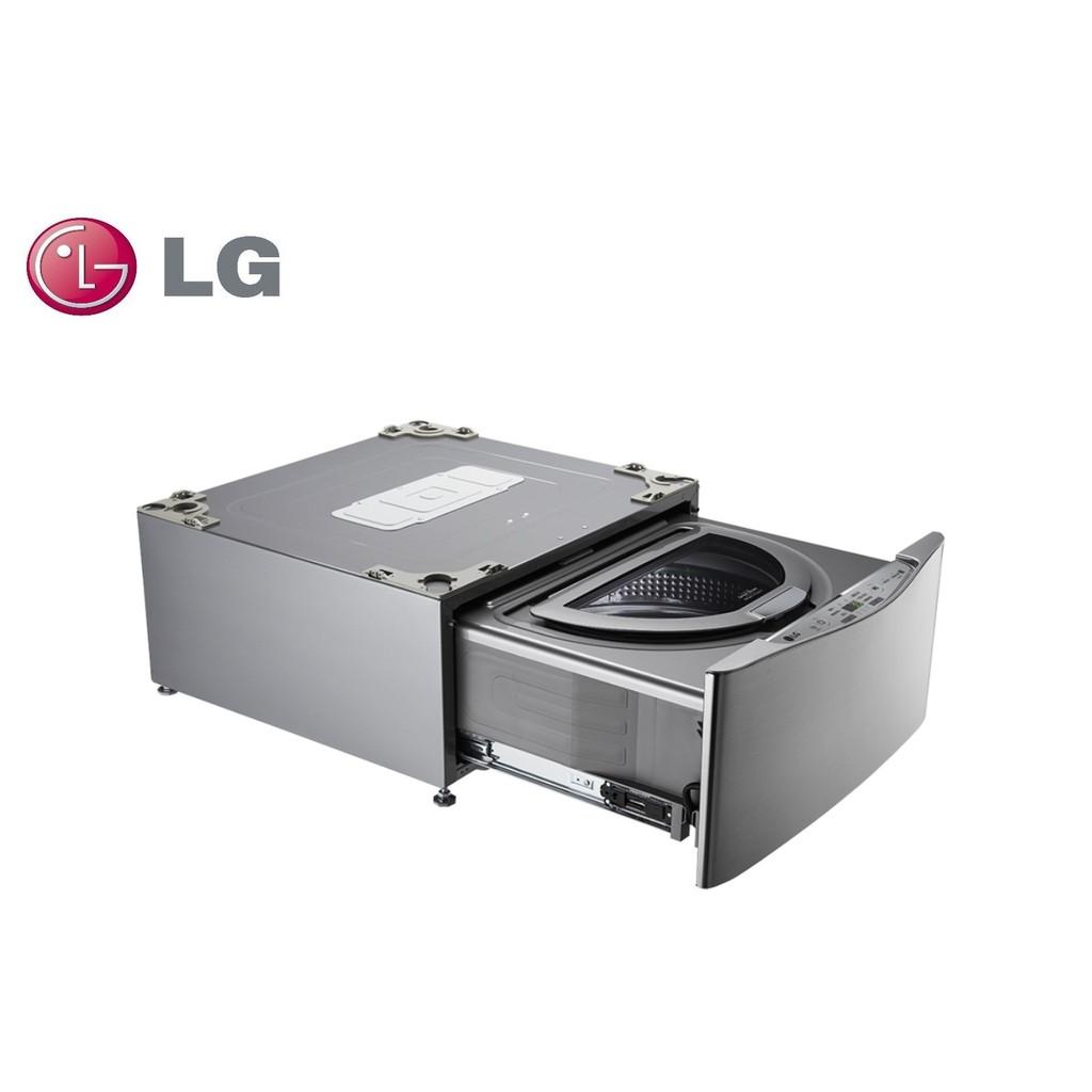 LG樂金 MiniWash迷你洗衣機 (加熱洗衣) 星辰銀 2公斤 WT-D200HV【雅光電器商城】