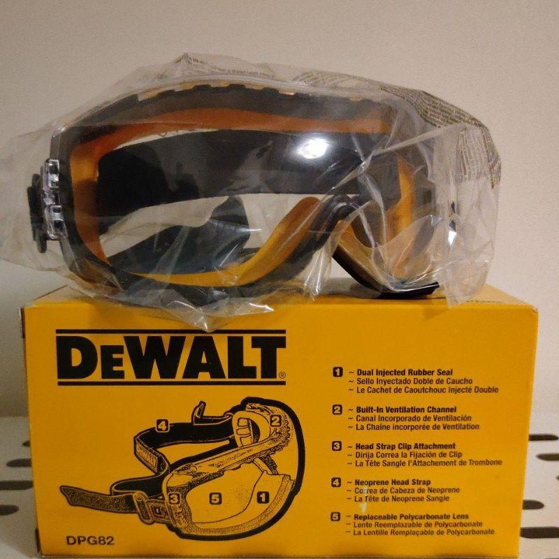 【特價商品】Dewalt 得偉 德偉 防霧防護眼鏡 防霧護目鏡 DPG82